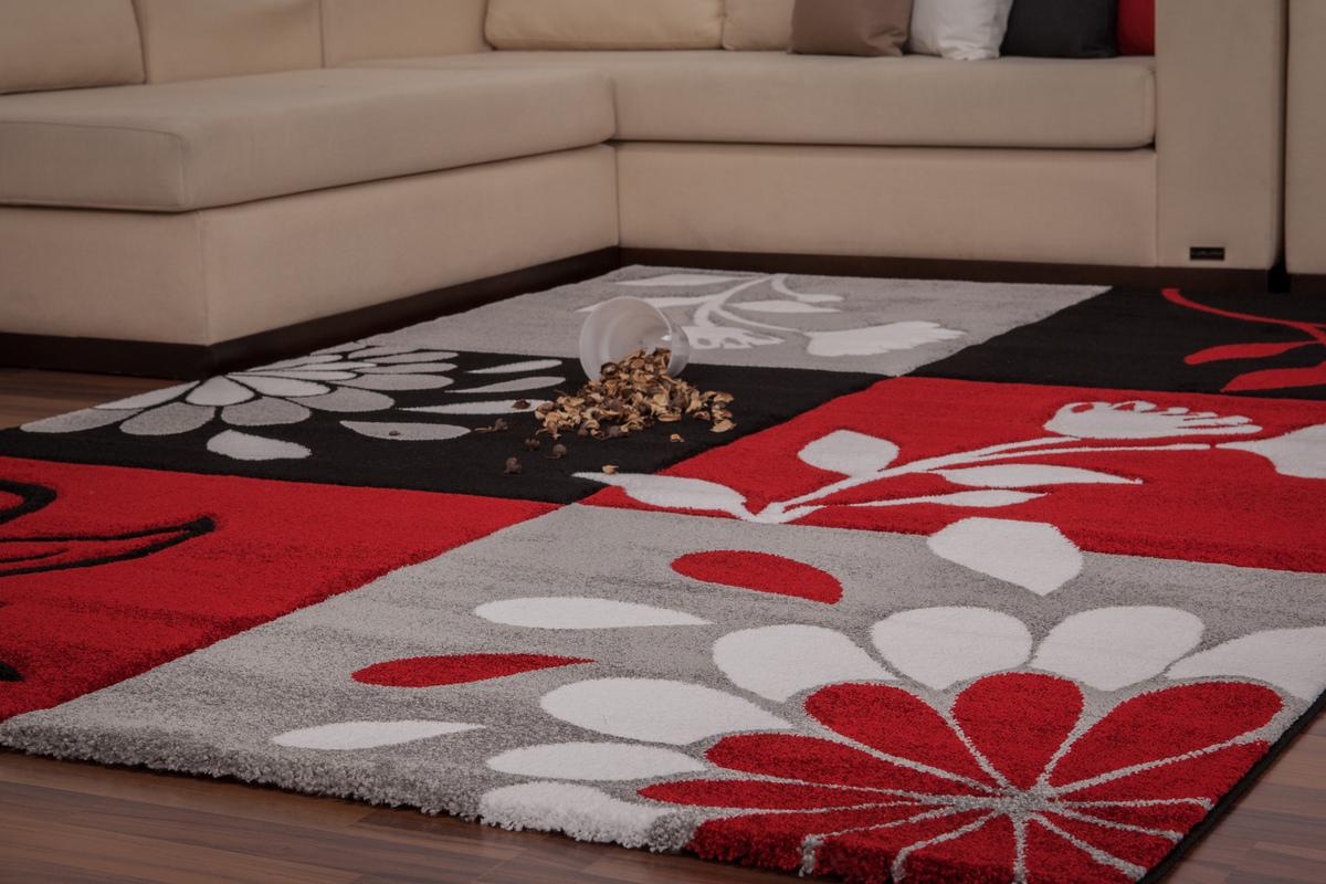teppich moderne teppiche konturen flachflor neu schwarz. Black Bedroom Furniture Sets. Home Design Ideas