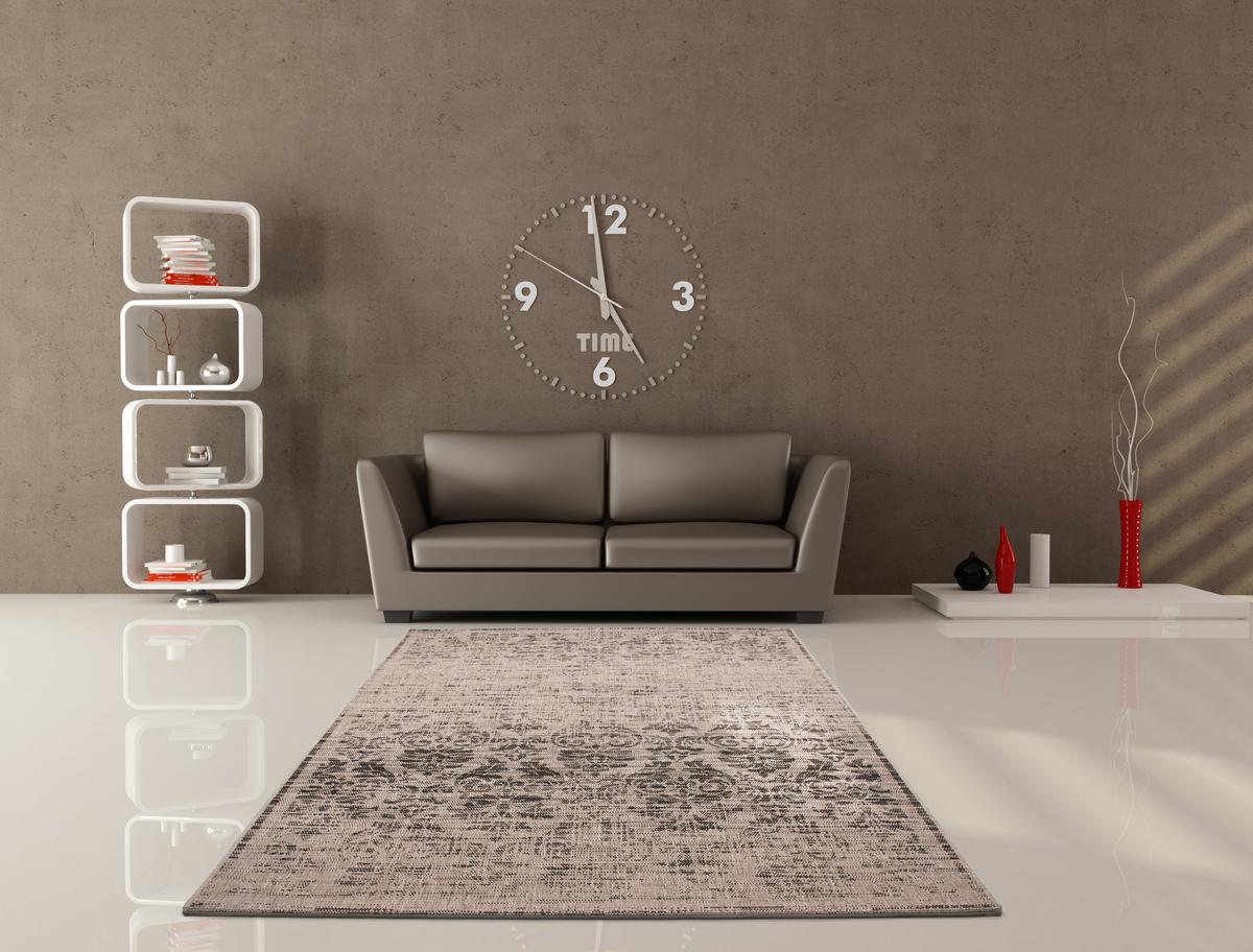 Moderne teppiche flachflor teppich designer retro vintage look top ...